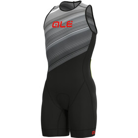 Alé Cycling Kaula Lympc Ärmelloser Triathlon Skinsuit Herren white